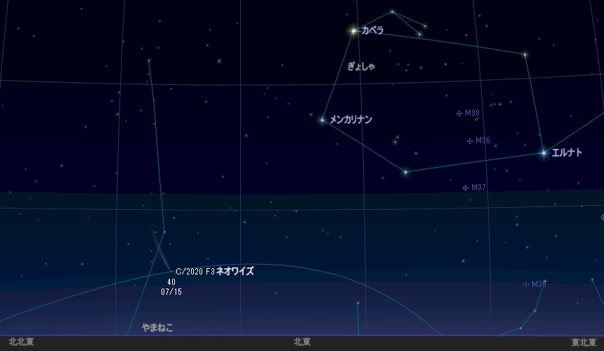 スワン 彗星